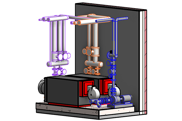 Cast Iron Boilers 3D Modeling With Revit MEP