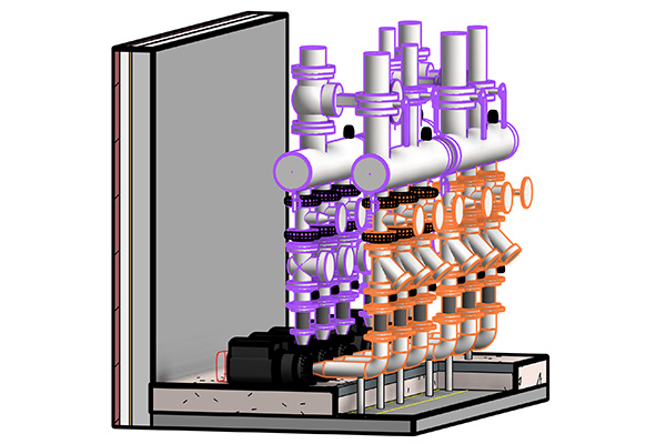Circulating Pumps 3D Modeling with Revit MEP